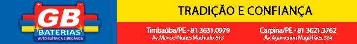 GB Bateiras Auto Elétrica e Mecânica. Em Timbaúba (81)3631-0979 e Carpina (81)3621-3762