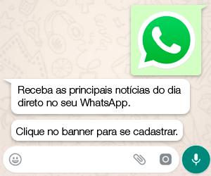 Receba notícias direto no seu WhatsApp